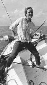 Jeannine sailing