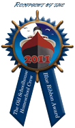Blue Ribbon Award - 2011 Old Schoolhouse Homeschool Crew