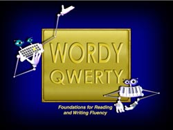 wordy qwerty talking fingers